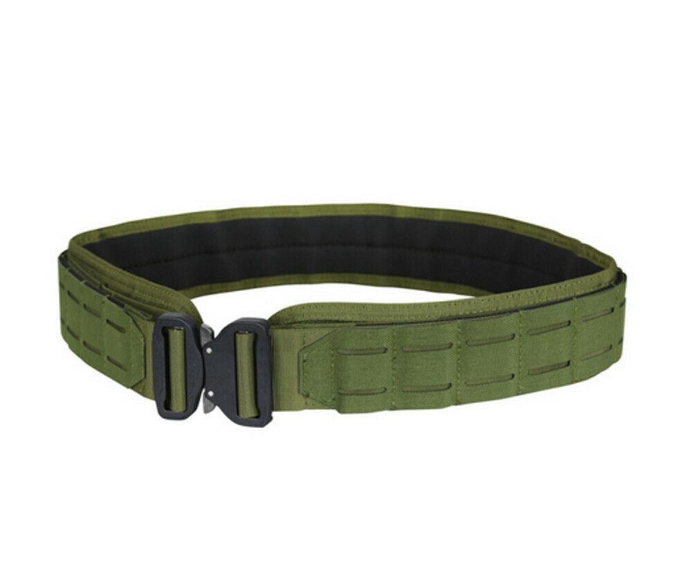 Large OD Green LCS  COBRA Gun Belt HD Tactical Molle Pals Nylon Padded 2 Belt  exclusive designs