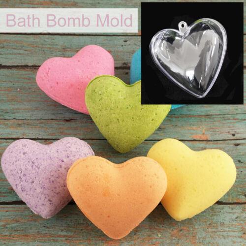 20//30Pcs Aluminum Ball Sphere Bath Bomb Mold Mould Cake Stainless Steel Plastic