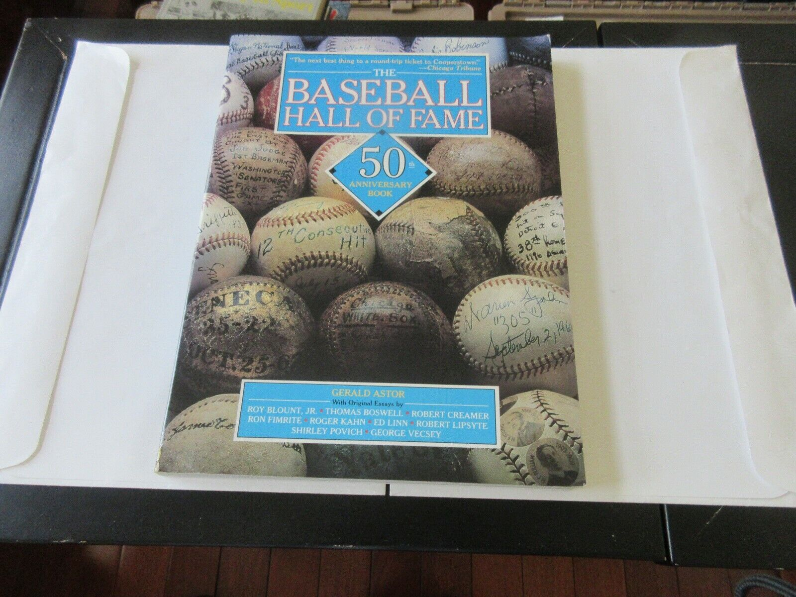 The Baseball Hall of Fame . 50th Anniversary Book , Ger