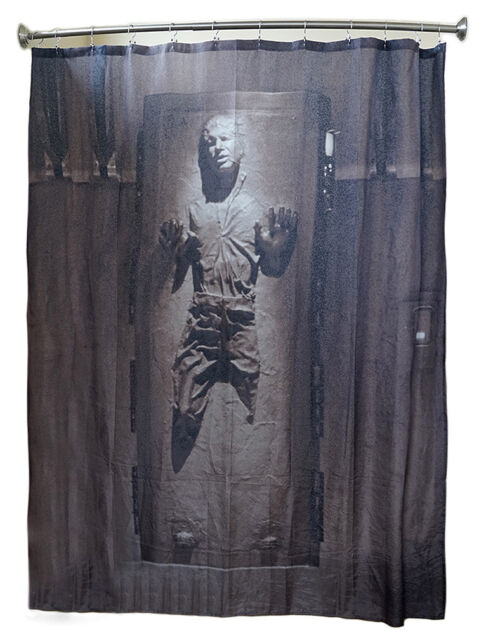 Star Wars Han Solo In Carbonite Shower Curtain Fast