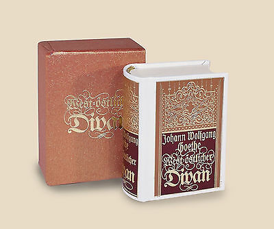 Miniaturbuch Minibuch Goethe Urfaust