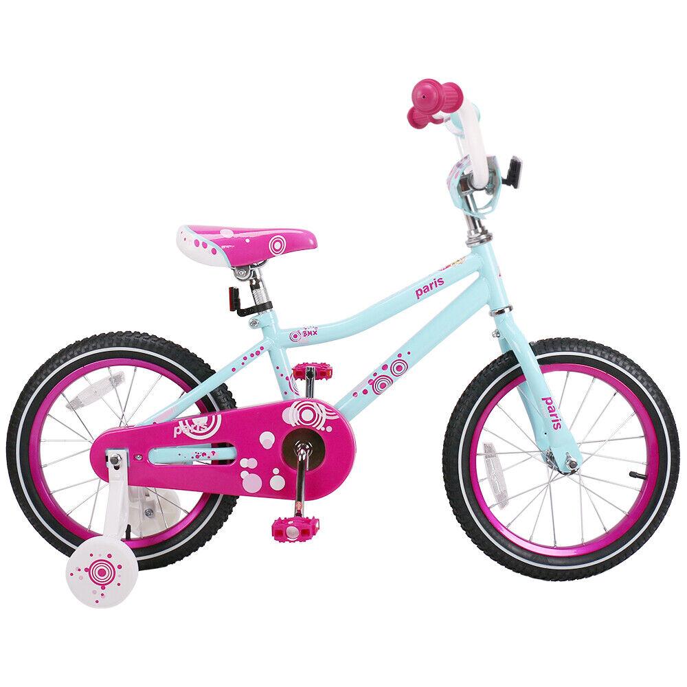 JOYSTAR Paris Kids Bike Girl Bicycle with Basket /& Coaster Brake for 3-9 y//o