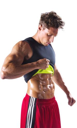 Weight Loss Apparel Neoprene Fit Shaper redu Sauna Vest Shirt for Men
