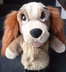 DISNEY-STORE-LADY-AND-THE-TRAMP-034-LADY-034-SOFT-PLUSH-HAND-GLOVE-PUPPET-TOY-10-034