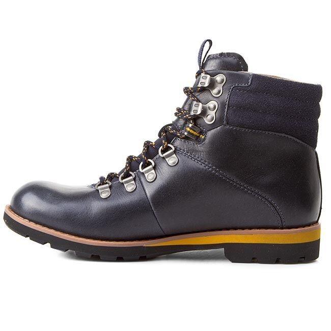 Bota Clarks para excursionismo Clarks Bota Nuevo Y En Caja Para Hombre Caminar padley ALP GTX oscuro azul leath /41 48672e