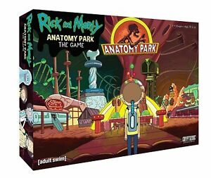 Cryptozoic Entertainment Parc de l'anatomie Rick And Morty, le jeu 689718845662