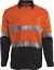 vis azul Hi larga Camisa M naranja talla o Xl color Workhorse manga con marino ventilación L S pczT5Wxwq