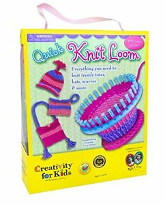 NEW Creativity For Kids Quick Knit Loom FREE SHIPPING