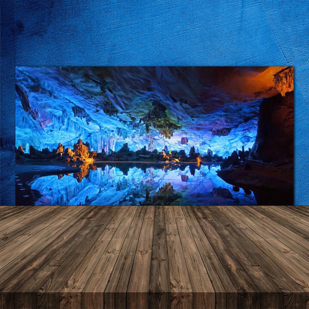 Crédence de cuisine en verre Panneau 120x60 Paysage Montagne Lac