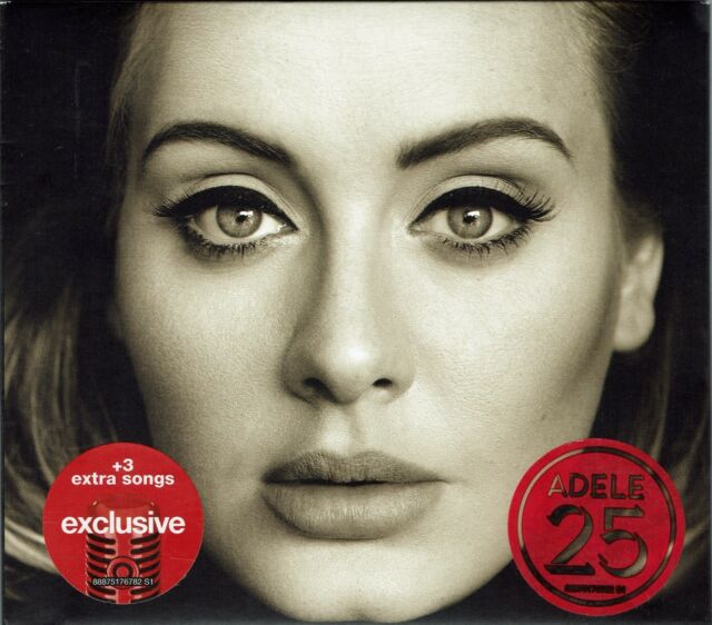 Adele - 25 (Deluxe Edition With Bonus Tracks) [New & Sealed] Digipack CD