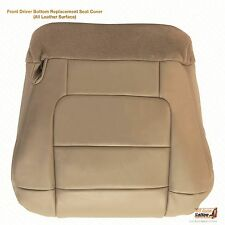 2003 Ford F150 Lariat Crew 2WD 4X4 -Driver Side Bottom Leather Seat Cover TAN