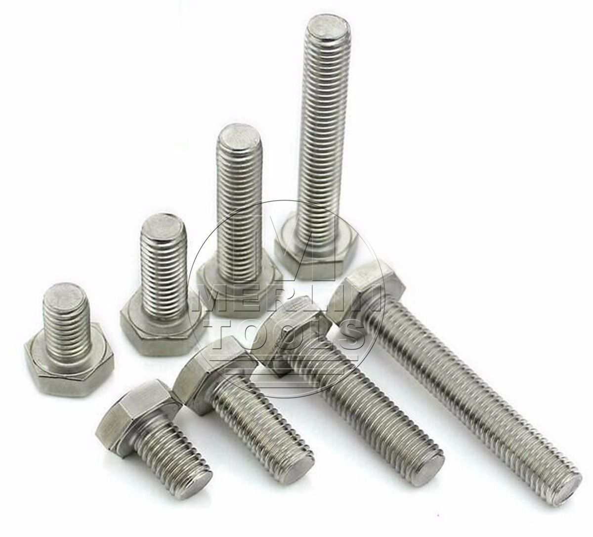 Select M12 M14 304 Stanless Steel Hex Head Cap Screws Bolts and Fine  Threaded