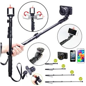 Phone-Selfie-Stick-Bluetooth-Extendable-Handheld-Tripod-Monopod-For-Gopro-Camera