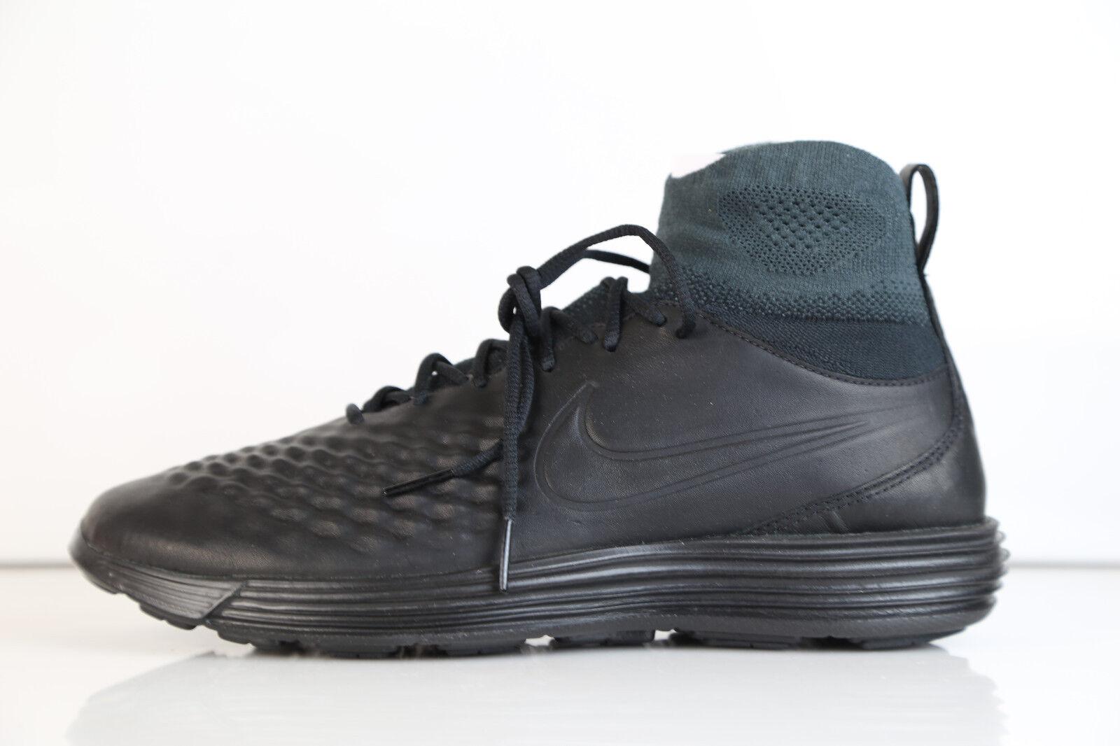 Nike Lunar Magista II FK Noir Anthracite 852614-001 8-12 free one premium