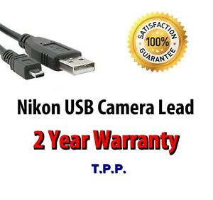 Nikon-Coolpix-USB-Camera-Lead-Cable-Select-Your-Exact-Model-In-Advert