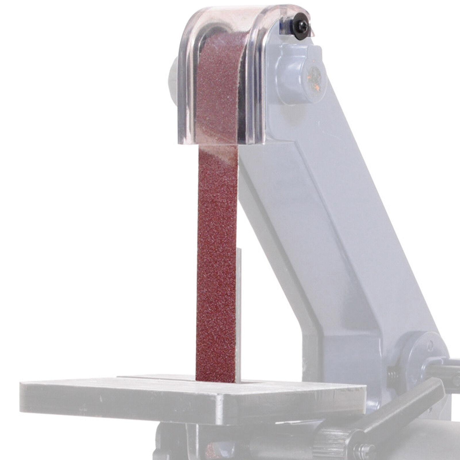 1 x 25x760mm P80 Grain De Rechange Nouveau Banc Table Top ponçage ponceuse machine Ceinture