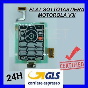 FLAT FLEX SOTTOTASTIERA TASTI MOTOROLA V3 / V3i / V3xx *GLS* NEW