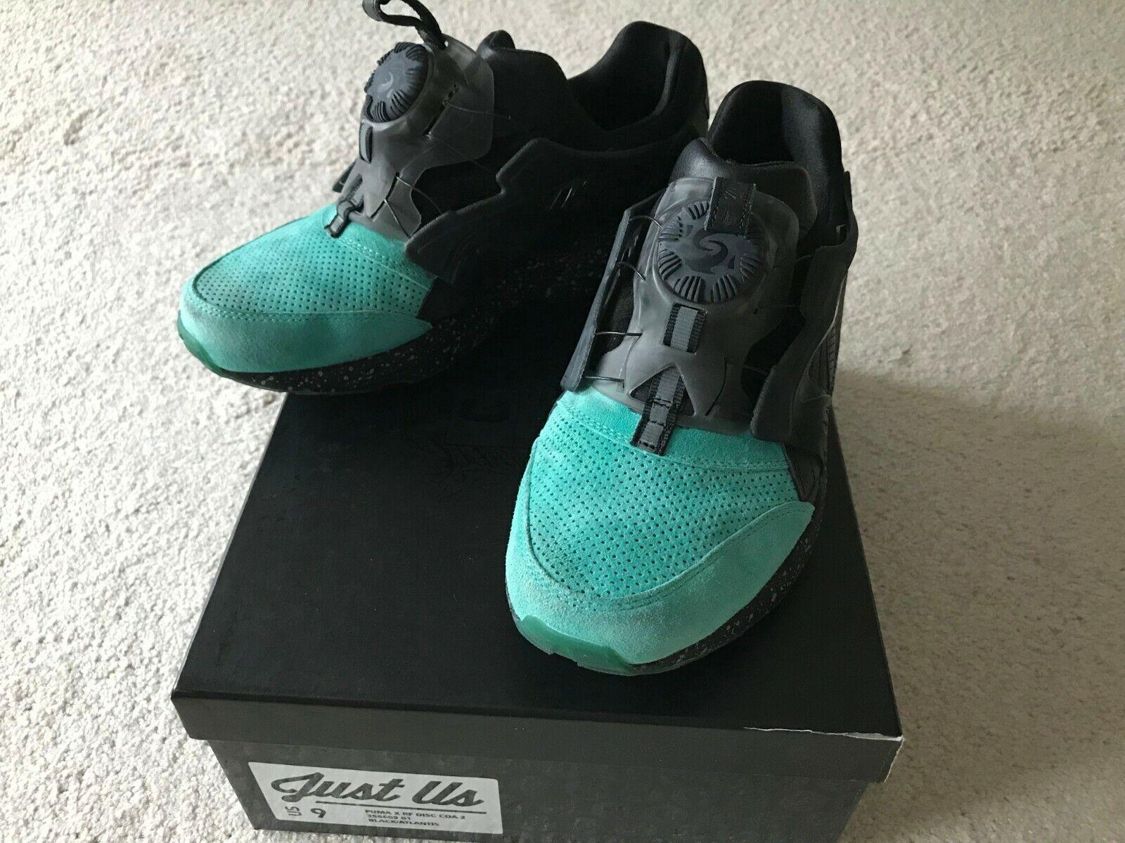 Puma Disc Blaze x Ronnie Fieg Coat Of Arms Mint COA RF Men US sz 9 Rare sneakers