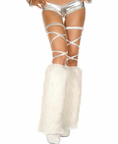 Furry Leg Warmers Music Legs 5535