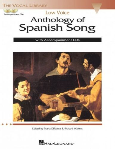 Anthology of Spanish Song Low Voice Edition With 2 CDs of Piano Accomp 000124190