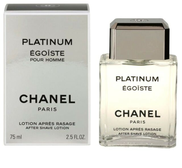 506ff6aa63 CHANEL Platinum Egoiste Pour Homme 75ml Aftershave Lotion