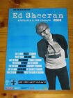 ED SHEERAN - 2018 Australia Tour & NZ Tour - Promotional Laminated Poster