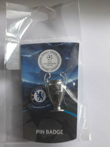 FC Chelsea London Fußball Pin UCL Champions 2012
