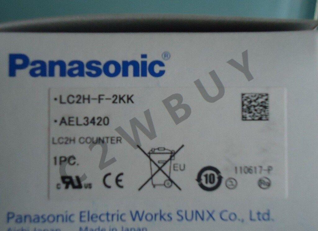 ONE NEW PANASONIC Counter LC2H-F-2KK