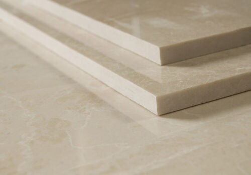 CREMA MARFIL ALTERNATIVE 610x406x12mm BEIGE POLISHED MARBLE TILES £44.99 PER SQM