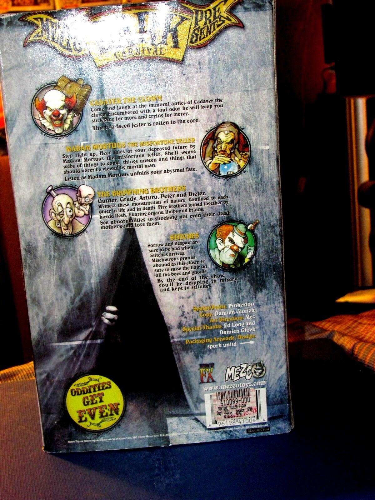 Mezco Dark Dark Dark Carnival Madam Mortuus Misfortune Teller RARE icp insane clown posse 1f6995