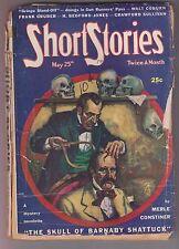 Short Stories May 25 1945 Pulp Merle Constiner H. Bedford-Jones Hapsburg Liebe