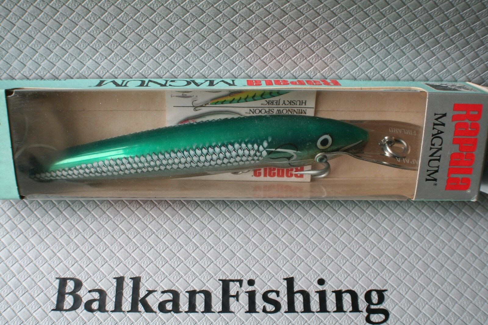 Rapala Coundown Magnum CDMAG-18,Stainless Steel Inix, Coloree GSS,fatto in Finle