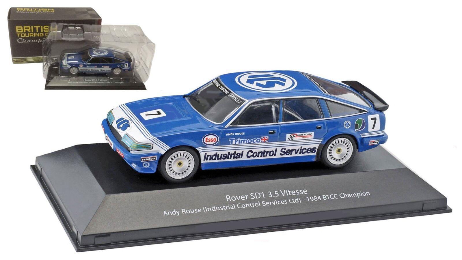 ATLAS ROVER SD1 3.5 VITESSE  ICS Ltd  Racing Champion 1984-Andy Rouse 1/43