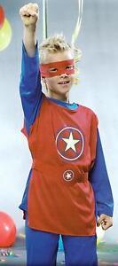 Kinder-Kostuem-maskierter-Held-Superheld-Halloween-Horror-Fasching-Karneval-Gr-M