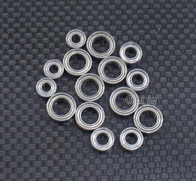 16 PCS Metal Ball Bearing Bearings Set FOR TEAM LOSI 1//10 22 BUGGY