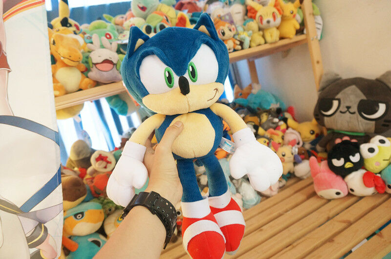 SEGA GAME SONIC THE HEDGEHOG Soft Plush Plush Plush Toy Japan 38CM 6c323a