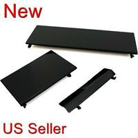 3 Black Replacement Door Slot Cover Lid Part For Nintendo Wii Console System