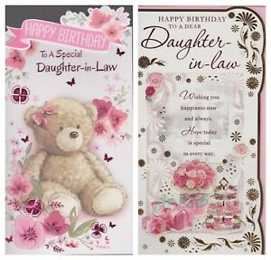 Image Is Loading Daughter In Law Birthday Wishes To A Special