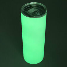 Us Stock 25pcs 20oz Sublimation Blanks Straight Skinny Tumblers Glow In The Dark