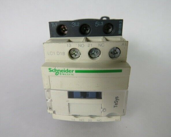 Schneider Electric LC1D18G7 Contactor 120V 50 60HZ  USED
