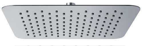Soffione doccia quadrato con snodo in acciaio inox da 20x20 25x25 o 30x30