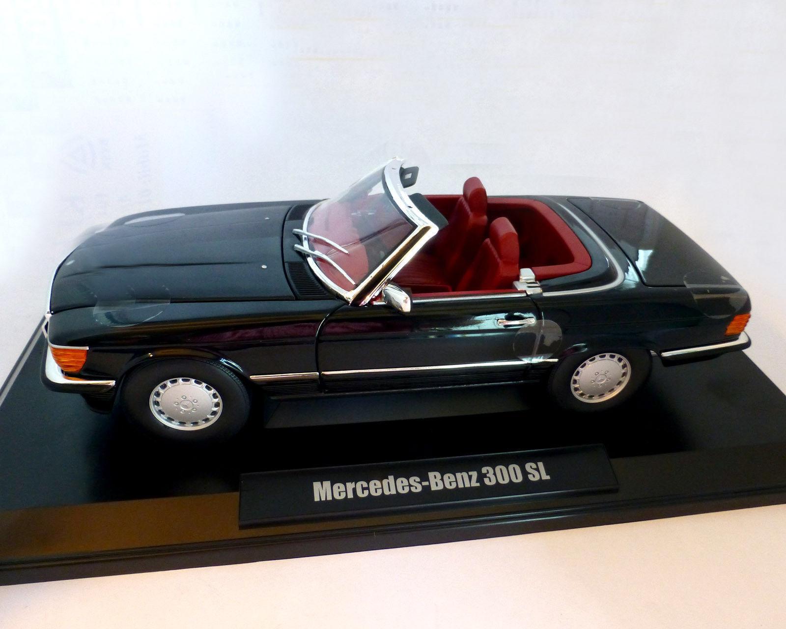 NOREV MERCEDES BENZ 300 SL CABRIO Soft Top 1 18 noir presque Sold out  DERNIER