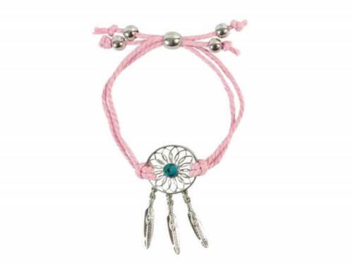 rosa Armband Traumfänger