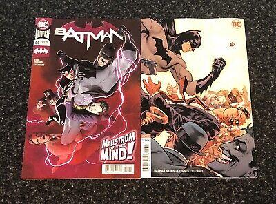 Batman #66 A /& B Covers Maelstrom of the Mind DC Comic 1st Print 2019 NM