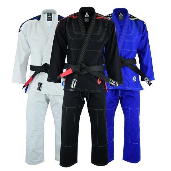 BRAWL BJJ Gi Men Uniform Brazilian Jiu Jitsu Kimono Suit White A0 A1 A2 A3 A4 A5