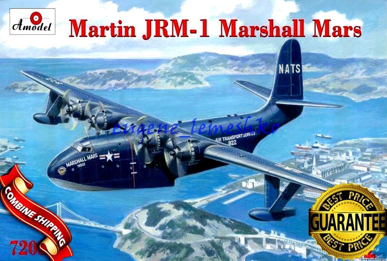 Amodel 72038 Martin JRM-1 Marshall Marte aviones Nat, 172 Kit plástico modelo