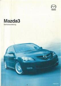 MAZDA-3-Betriebsanleitung-2009-Bedienungsanleitung-Handbuch-Bordbuch-BA