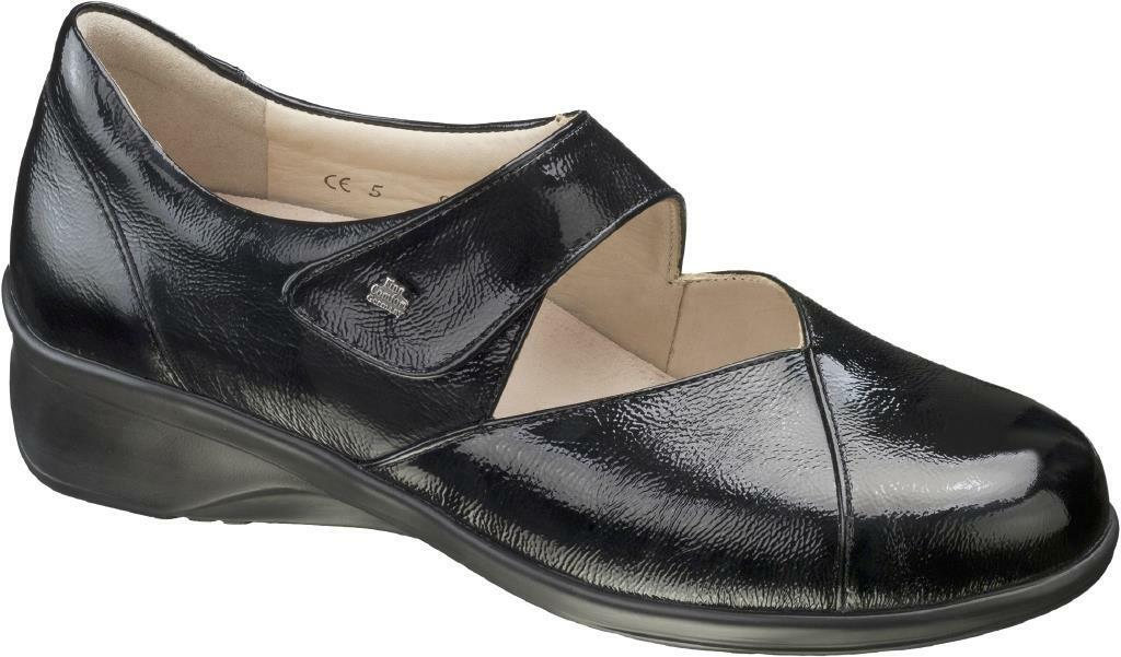 FINN zapatos COMFORT ROSWELL LEAD negro zapatos FINN mujer DECOLLETE MARY JANE negro gris 483c53