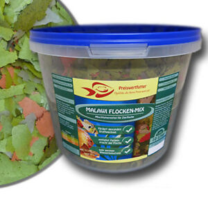 Malawi-Flocken-Mix-10L-Eimer-1-6-kg-Futter-Cichlidenfutter-Fischfutter-Aquarium