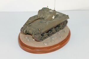 Details about Battle Scene Display Model Pro painted Custom Assembled M4  Star Sherman Tank